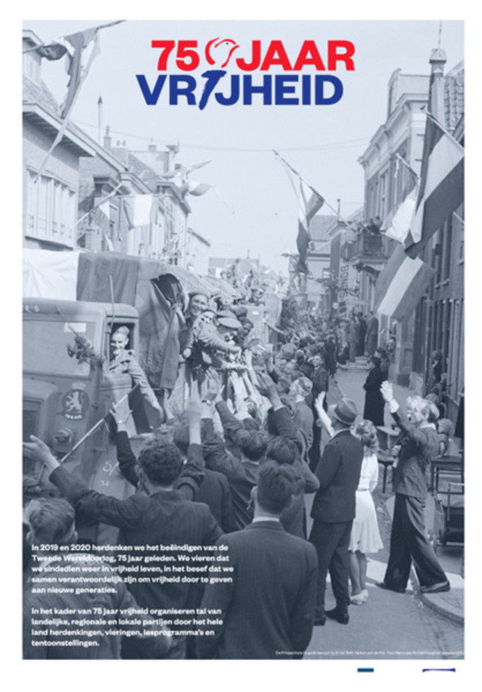 Fotopagina AD 30-08-2019: foto van de  bevrijding van Alphen a/d Rijn op 8 mei 1945.