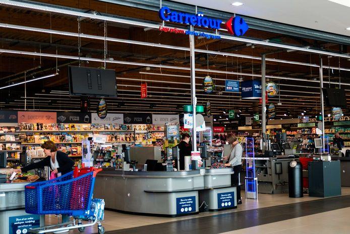 Nog een goeie maand blijft Carrefout in shopping 1, maar tegen november dit jaar komt een Albert Heijn in de plaats.