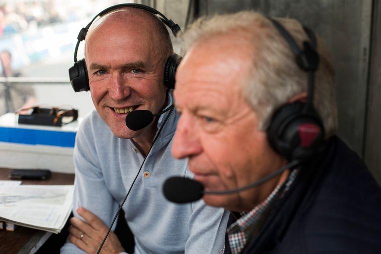 Michel Wuyts en José De Cauwer zullen de Italiaanse koersen dit jaar niet verslaan voor de VRT.  Beeld Joost De Bock