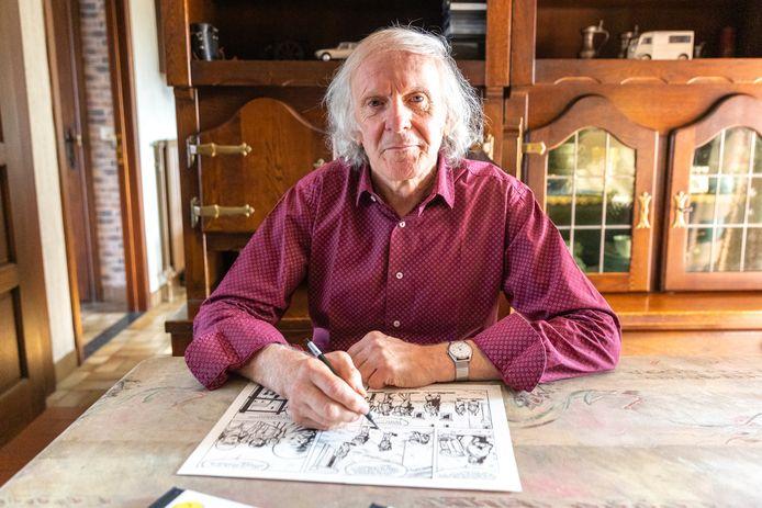Sylvain Polfliet verzon zijn eigen geheim agent Brian Howell als stripheld meer dan veertig jaar geleden. Fans zijn dat nog niet vergeten.