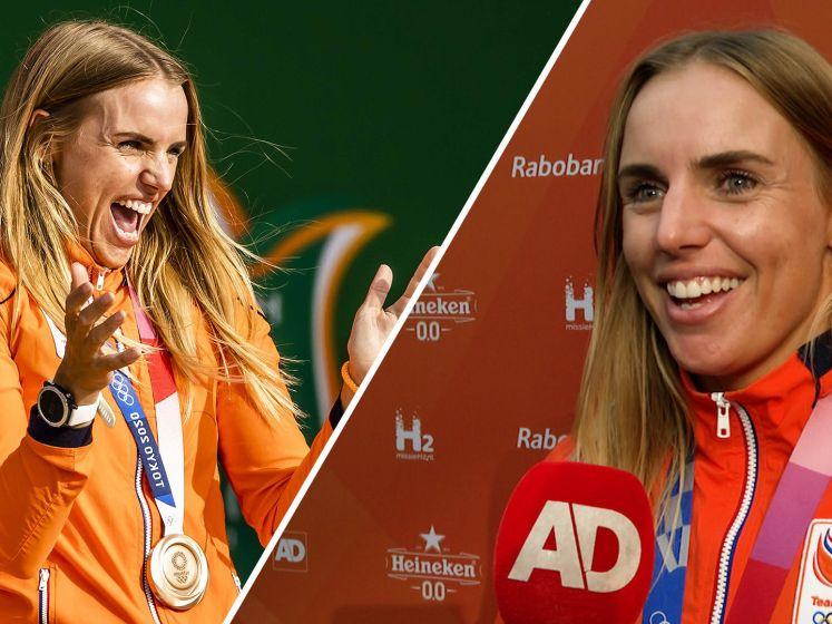 Marit Bouwmeester verrast door ouders op Olympic Festival
