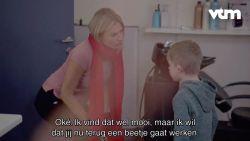 Wat probeert Basile (6) in Dat Belooft Voor Later te verstoppen voor Nathalie Meskens?