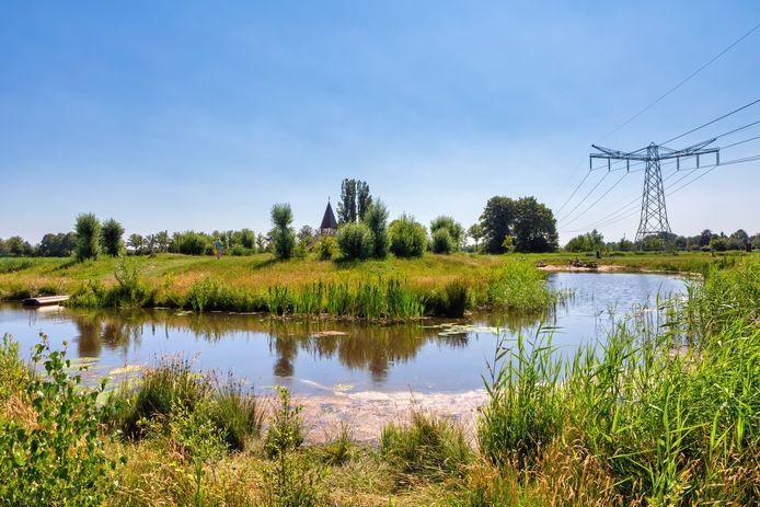 Natuurspeeltuin De Beljaart in de ecologische verbindingszone tussen Dongen en Dongen-Vaart. De elektriciteitsmasten verdwijnen op termijn.