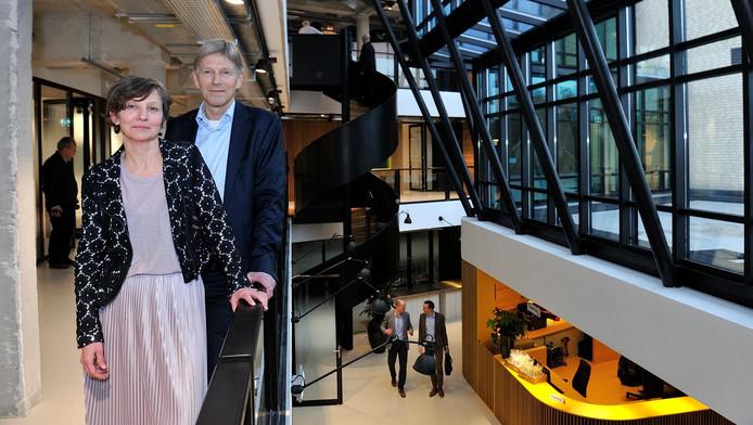 Dirrecteuren Koos Koolstra en Dorine Lommen.
