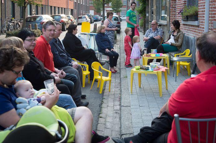 De Burendag, hier in de Wittebroodstraat, krijgt wel nog ondersteuning.