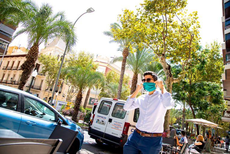 Het centrum van Alicante. Beeld Bart Hoogveld