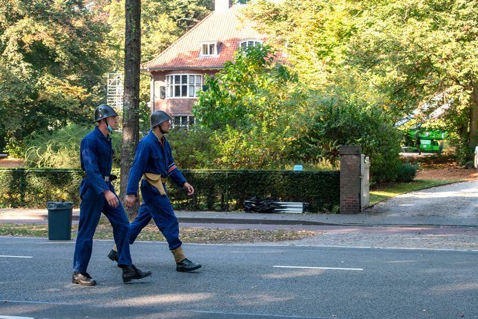 De Bredaseweg is afgesloten voor film opname van De Stamhouder