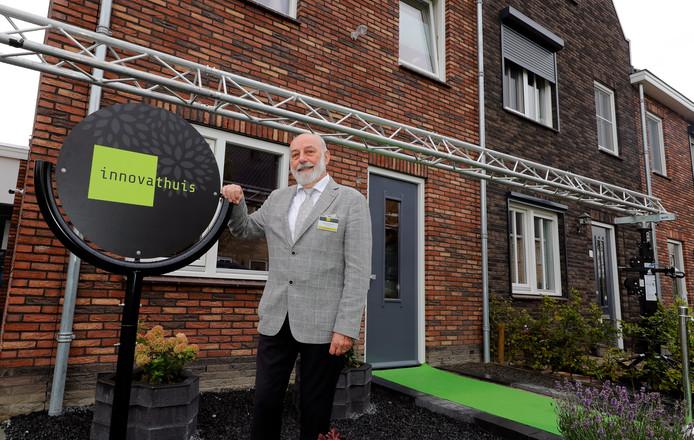 Ondernemer Hugo Vandenborre voor het Innovathuis.