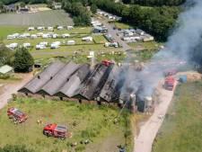 Stallen Elspeet waarin 222 kalveren omkwamen bij brand maken mogelijk plaats voor woningen
