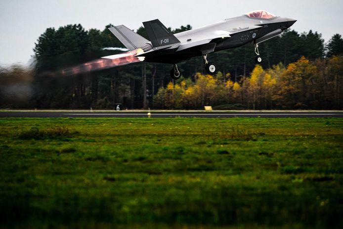 De oefeningen met de F-35 boven Volkel zorgde in november voor een ongekend aantal klachten van de omgeving.