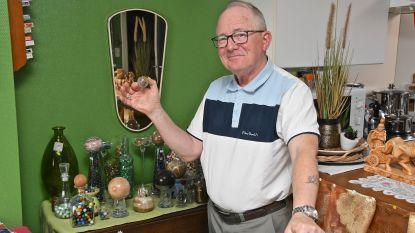 """Knikkerverzamelaar Christiaan Therry zoekt locatie en leden voor de opstart van een knikkerclub: """"Ik wil begraven worden met knikkers in m'n kist"""""""