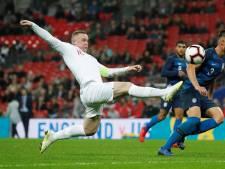 Oefenzege Engeland bij afscheid Rooney