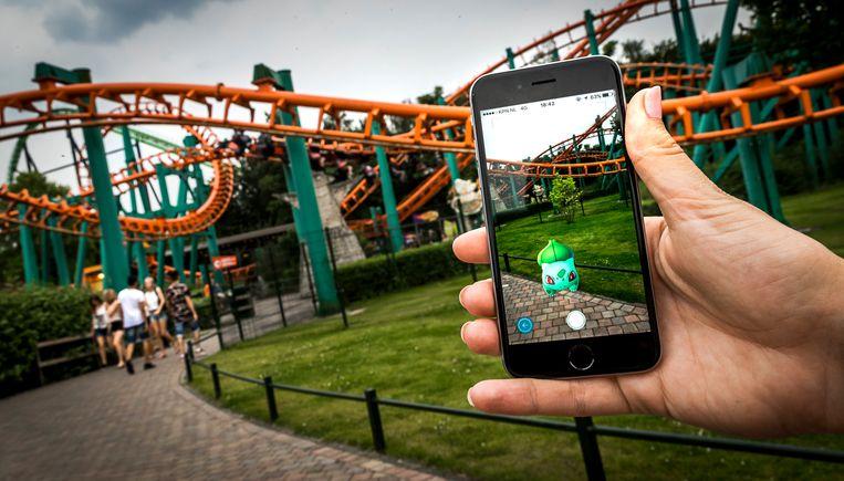 Pokémon Go is tot nu toe de bekendste toepassing van AR. Beeld ANP