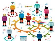 Wie de gang van het virus volgt, leert veel over hoe de wereld écht in elkaar zit