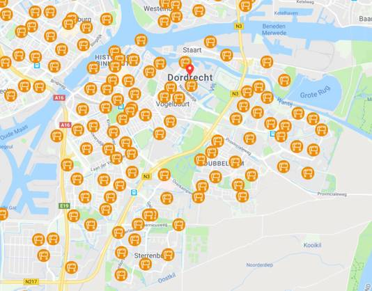 Brievenbussen regio Dordrecht