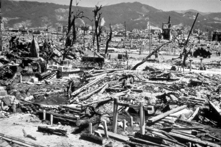 Hiroshima (6 augustus 1945).