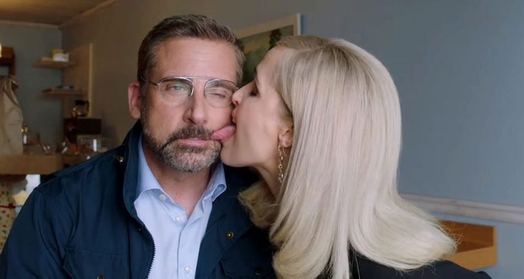 Steve Carell en Rose Byrne in Irresistible. Beeld