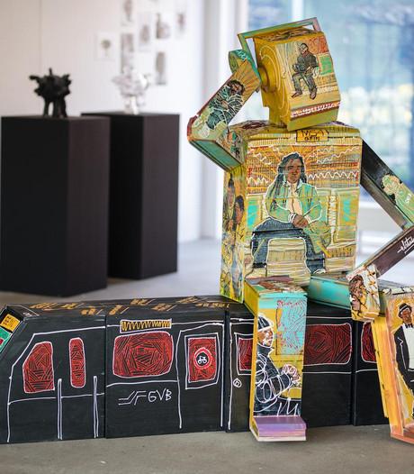 Amsterdam Museum koopt kunstwerk M54 over metrolijn 54