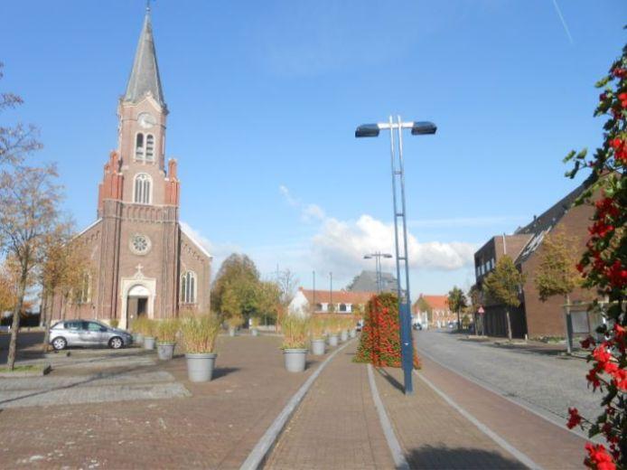 Het Ruienplein in Kluisbergen krijgt een nieuwe invulling.