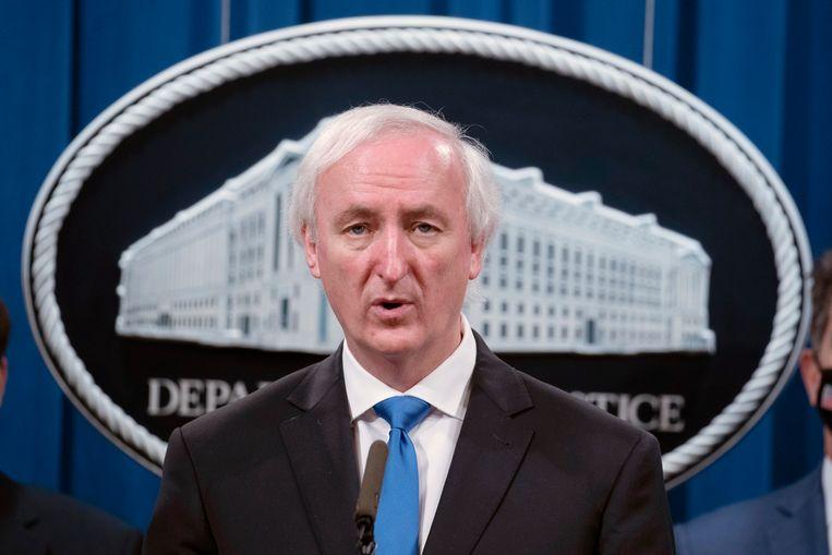 Ex-minister van Justitie Jeffrey Rosen werd door de voormalige president met ontslag bedreigd. Beeld AP