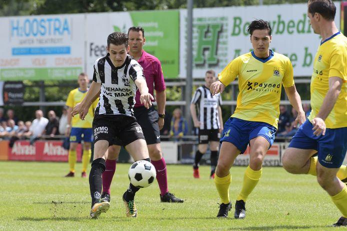 Gemert tegen Staphorst in de nacompetitie 2019.