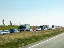 Verkeershinder op A58 tussen Rilland en Markiezaat