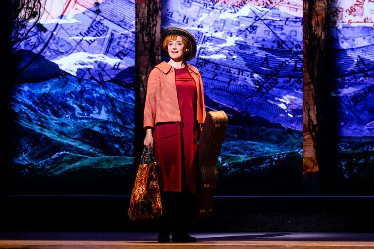 Nandi van Beurden als Maria in The Sound of Music. Beeld Roy Beusker