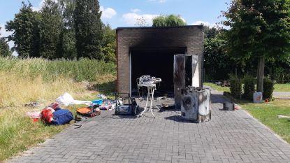 Diepvries defect: garage brandt uit