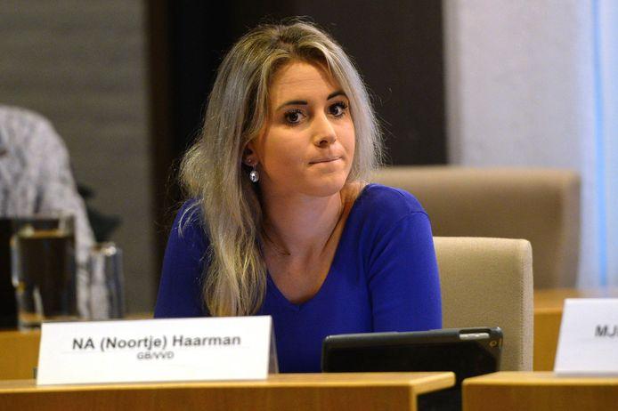 De nieuwe fractievoorzitter van GB/VVD: Noortje Haarman.
