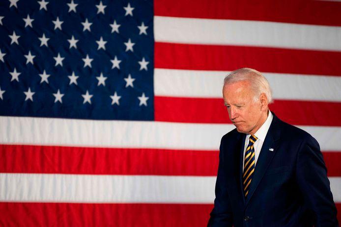 Democratische presidentskandidaat Joe Biden.