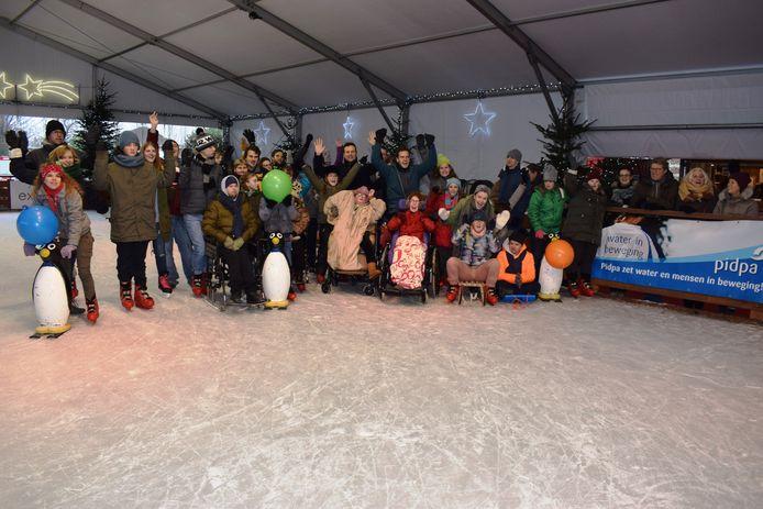 Zelfs G-schaatsers komen aan hun trekken tijdens 'Kontich Schaatst'