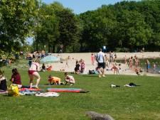 Bezoekers Bernisse vergeten 1,5 meterregel