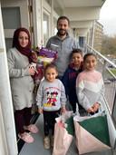 Udae Alkalefah zag recent zijn vrouw en kinderen overkomen uit Syrië.