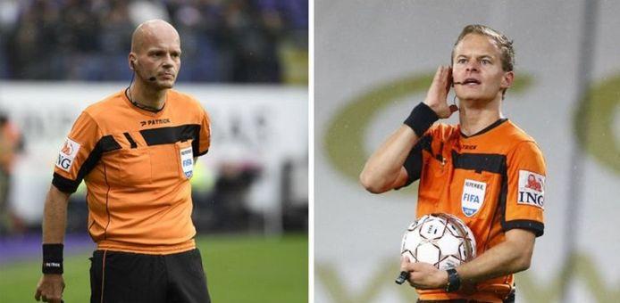 Links: Sébastien Delferière, rechts: Bart Vertenten.