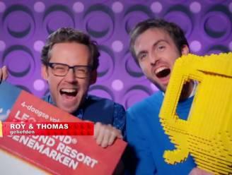 Belgisch duo Thomas en Roy wint 'LEGO Masters 2021'