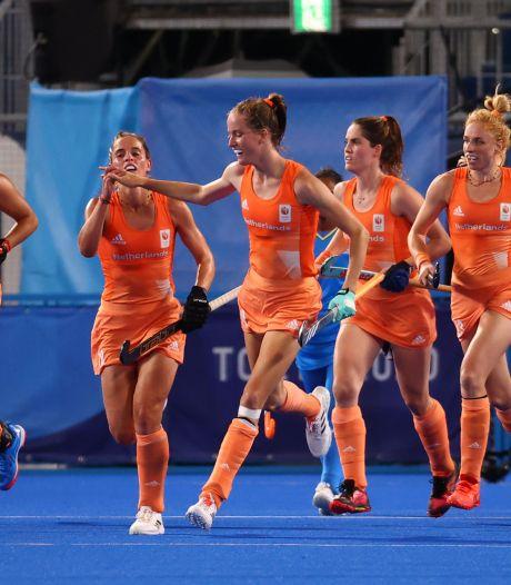 Nederlandse hockeysters nemen na rust afstand van India
