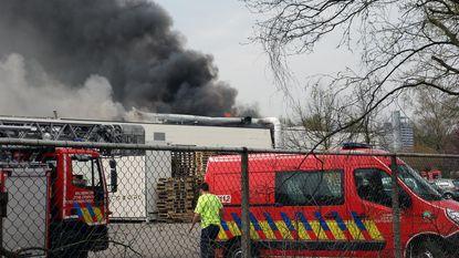 Uitslaande brand bij bedrijf Pentair