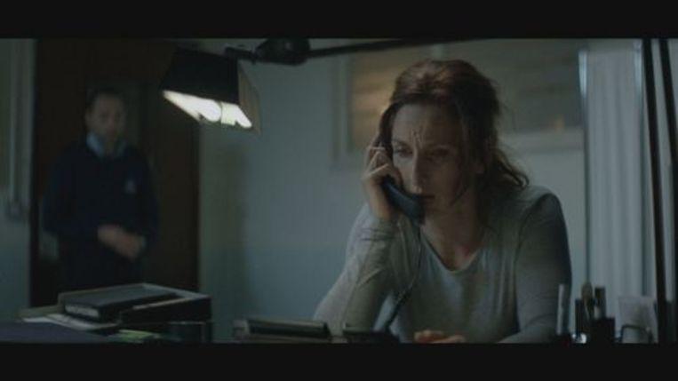 Veronique Dockx (rol van Ruth Becquart) in 'Gent West'. Beeld rv