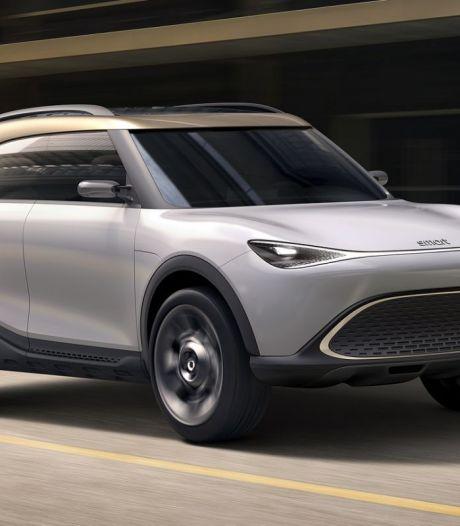 Smart is klaar met klein: deze SUV komt er aan
