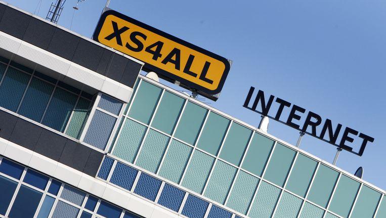 Het kantoor van Xs4all in Amsterdam Beeld anp