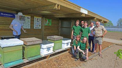 Tuinbouwschool heeft eigen bijenkolonie
