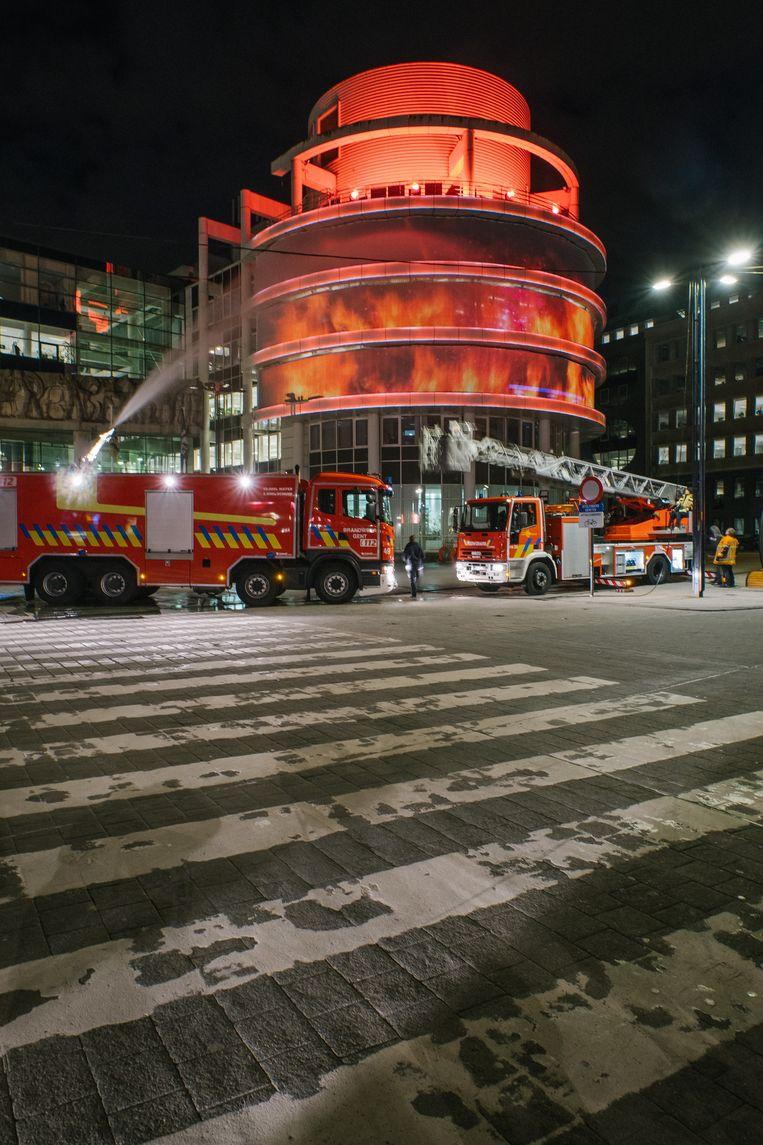 To The Rescue. Beeld Wouter Van Vooren
