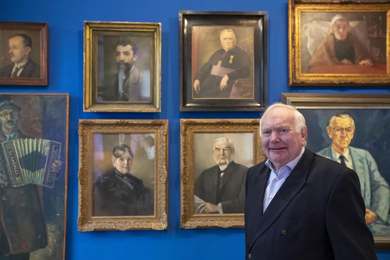 Erik Doedes Breuning ten Cate heeft twee portretten van zijn overgrootouders in bruikleen gegeven aan het Stadsmuseum.