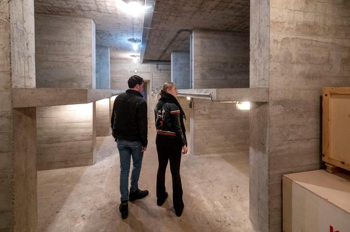 De schuilkelder van het Kröller-Müller Museum.