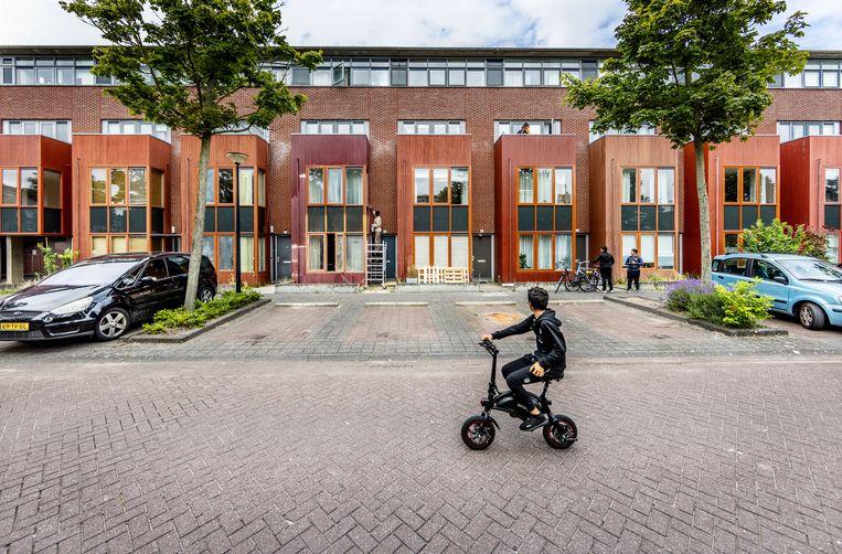 Woningen aan de Valutaboulevard worden opgekocht en opgesplitst door investeerders. Beeld Jean-Pierre Jans