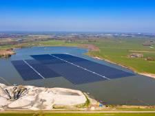 'Grootste drijvend zonnepark buiten China' in Uivermeertjes Deest komt er, ondanks tegenstand