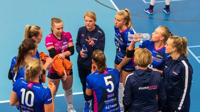 Eurosped verloor zaterdag met 3-0 van het Talentteam.