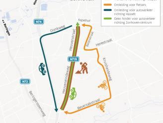 Fietspaden Heuveneindeweg en Heuvenstraat krijgen nieuwe asfaltlaag