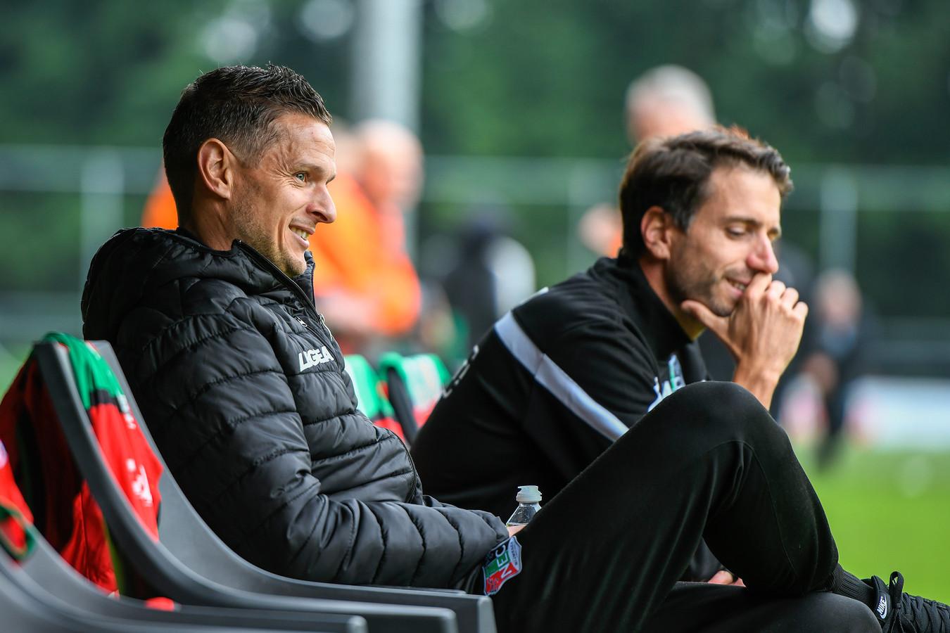 NEC-trainer Rogier Meijer.