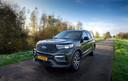 De Ford Explorer is een imposante verschijning met prima rijeigenschappen.